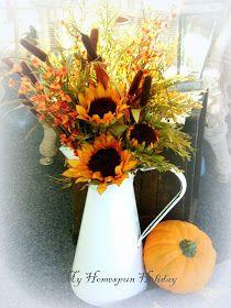 My Homespun Holiday: Fall decorating