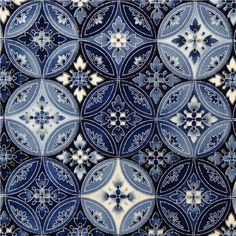 Beautiful Mediterranean tile work.