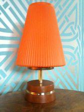 desk lamp orange | eBay