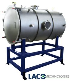 Custom vacuum chamber made for a university. See more vacuum chambers on our website: http://www.lacotech.com/vacuumchambers #vacuumchamber