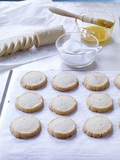 Vanilla-Bean Sablés from Baking Chez Moi by Dorie Greenspan