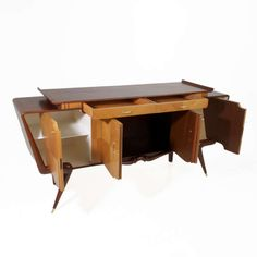 Sculptural Brazilian Cabinet in the Manner of Giuseppe Scapinelli