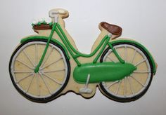 Sugar Mama Cookies: Kate Spade bike