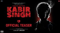 "The trailer of ""Kabir Singh"" featuring Shahid Kapoor as Kabir Singh and Kiara Advani as Preeti is out and is already trending at the top. The trailer features an alcoholic Kabir who fell in love with a MBBS student Preeti. Bollywood Songs, Bollywood Actors, Bollywood News, Bollywood Posters, Movies 2019, Hd Movies, Films, Top Tv Shows, Video L"