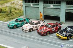 Slotcar Custom h0, Modellrennwagen h0, Porsche 930, Le Mans, DRM Porsche 911 Rsr, Custom Porsche, 24h Le Mans, Moto Car, Ho Slot Cars, Slot Car Tracks, Pista, Diecast, Transportation