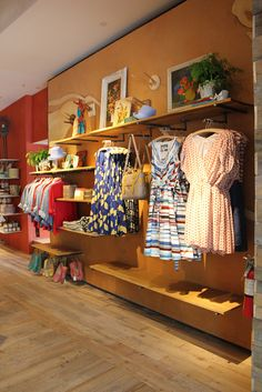 Very simple and cute boutique.