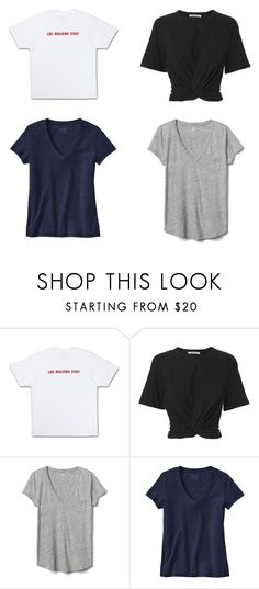 tops by oyuwore on Polyvore featuring Patagonia, Gap and T By Alexander Wang