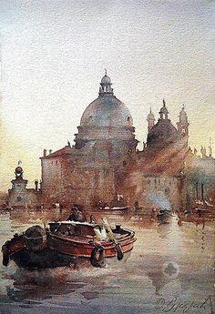 Dusan Djukaric I Watercolor