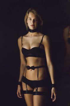 Bow Suspender #LiveLoveLingerie #figleaves #Lingerie