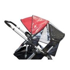 UPPAbaby Rumble Seat Rain Cover, Clear #kidscityvt