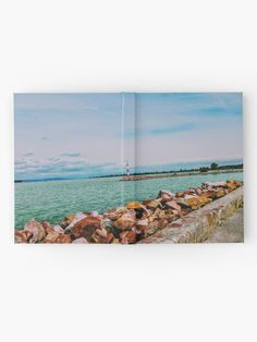 'By the lake' Hardcover Journal by godolilla Framed Prints, Canvas Prints, Art Prints, Journal Design, Relaxing Day, Sell Your Art, Art Boards, My Design, Finding Yourself