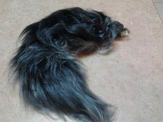 Yarn Wolf Tail