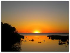 Duck, North Carolina ~  Sunset on the Sound ♥