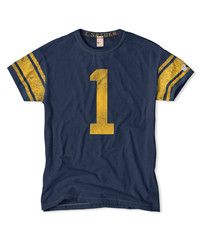Navy #1 Crew T-Shirt