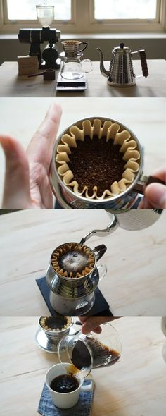 Home brewing the perfect cup of coffee with the Kalita Wave