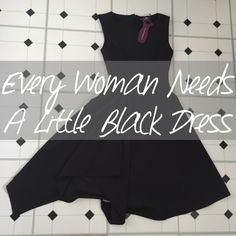 every woman needs a little black dress and here are just 5 reasons why….