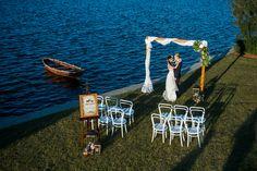 Lake House Wedding Inspiration