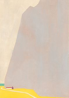 【日本东京插画师坂内拓(Taku Bannai)绘画作品】 —— The house of the foot of a mountain 山のふもとの家