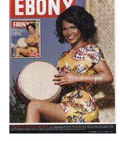 To celebrate its 65th anniversary issue and icons of the past, EBONY magazine chose current celebs to play them: Nia Long as Dorothy Dandridge.