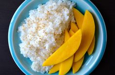 Whip up a homemade take on a Thai restaurant favorite with an easy recipe for coconut sticky rice with mango.