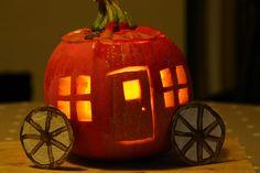 Pumpkin Carriage Lantern (Cinderella!)