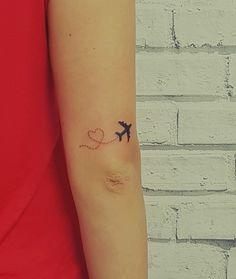 travelers tattoo ideas #lovetravelling #aeroplane #inspiration #getlost #experience