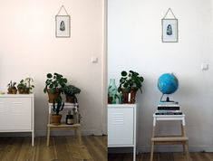 DIY IKEA Tritthocker Bekväm   Golden [Euca]lyptus