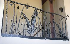 Wrought Iron Ferns