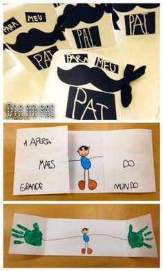 Manualidad en infantil para el Día del Padre! Preschool Crafts, Fun Crafts, Diy And Crafts, Mothers Day Crafts For Kids, Fathers Day Crafts, Daddy Day, Diy Artwork, Father's Day Diy, Art Classroom