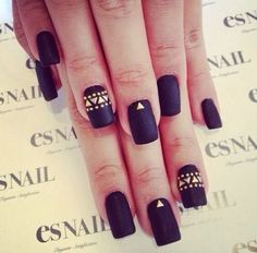 Matte black and gold things!