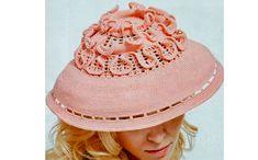 Креативная шляпа от Людмилы Орешкиной. Схема вязания крючком