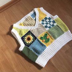 Kawaii Crochet, Cute Crochet, Crochet Crafts, Knit Crochet, Clothing Ideas, Clothing Patterns, Sewing Patterns, Crochet Patterns, Crochet Crop Top