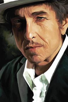 Bob Dylan Artwork.
