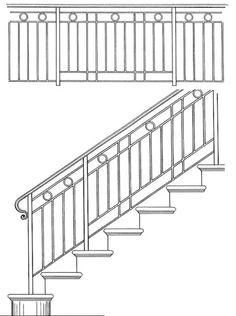 Iron Railing | Interior Hand Railing | Handrails