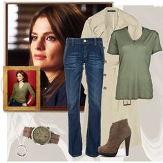 """Kate Beckett Style"" by sligogirl on Polyvore"