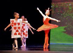 Queen of hearts from Alice in Wonderland ballet