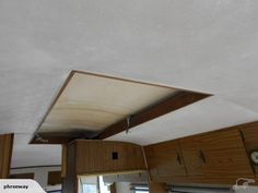 Original Plastic Roof Lining had to be removed with rotting stitching
