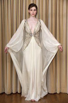 Temperley London wedding dress with sleeves, 2012