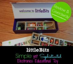 littleBits Review and #Giveaway... be sure to enter to win!  #homeschool