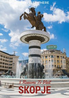 5 Reasons to Visit Skopje, Macedonia - Relax Car Hire Skopje - Travel North Macedonia Landscape Photography Tips, Scenic Photography, Night Photography, Landscape Photos, European Destination, Vintage Travel Posters, Beautiful Places To Visit, Eastern Europe, Romantic Travel