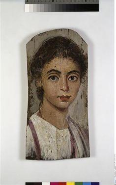 Portrait de momie de jeune garçon, 2e siècle, origine: Egypte, Antikensammlung Berlin