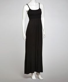 Another great find on #zulily! Black Braided Maxi Dress #zulilyfinds