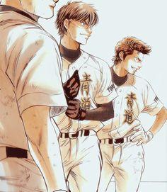 Image about ace of diamond in Dᴀɪʏᴀ ɴᴏ Aᴄᴇ by ♢♧♡♤ュリアナ♡♤♢♧ Awesome Anime, Anime Love, Otaku Anime, Manga Anime, Baseball Anime, Miyuki Kazuya, Kurotsuki, Comic Pictures, Hot Anime Boy