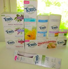 Tom's of Maine Awesome Prize Pack of Natural Products