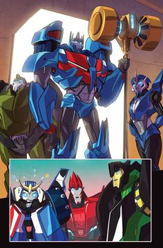 I love Strongarm reaction And Ultra Magnus got his hand back