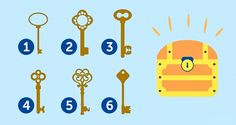 Select a Key And Discover Your True Personality! Which of These Keys Would You Choose To Open an Old Chest?