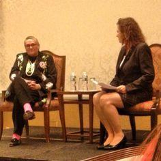 IAEE Midyear Meeting: 2012 IAEE Chair Doreen Biela and Patricia Farias Barlow