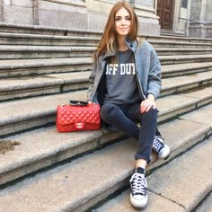 Look of the day: Off duty sunday