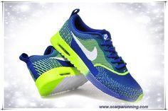 reputable site a2518 06ad4 borse online Nike Air Max Thea Print Sapphire Blu   Fluorescent Verde    Bianco acquisti on line scarpe