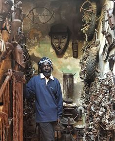 Amazing artist Meissa Fall using bikes to create his artwork Contemporary African Art, Installation Art, Discovery, Studios, Colours, Artists, Space, Create, Fall